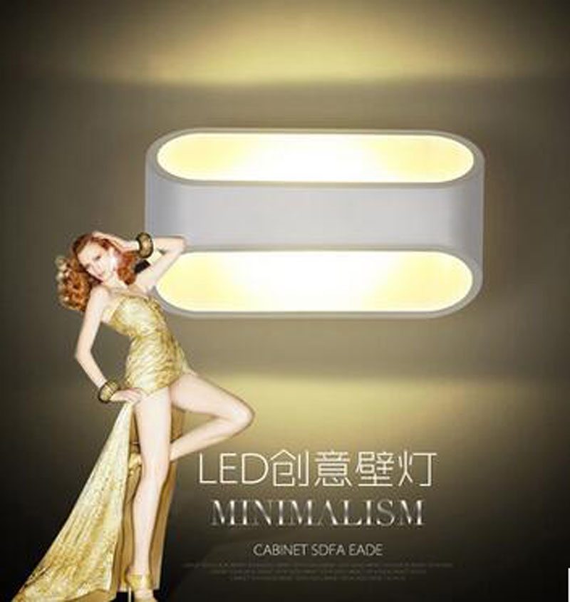 modern fashion aluminum 3w led wall lamp for bed room bathroom IP45 waterproof mirror lamp fashion background led lamp y1048 40cm 12w acryl aluminum led wall lamp mirror light for bathroom aisle living room waterproof anti fog mirror lamps 2131