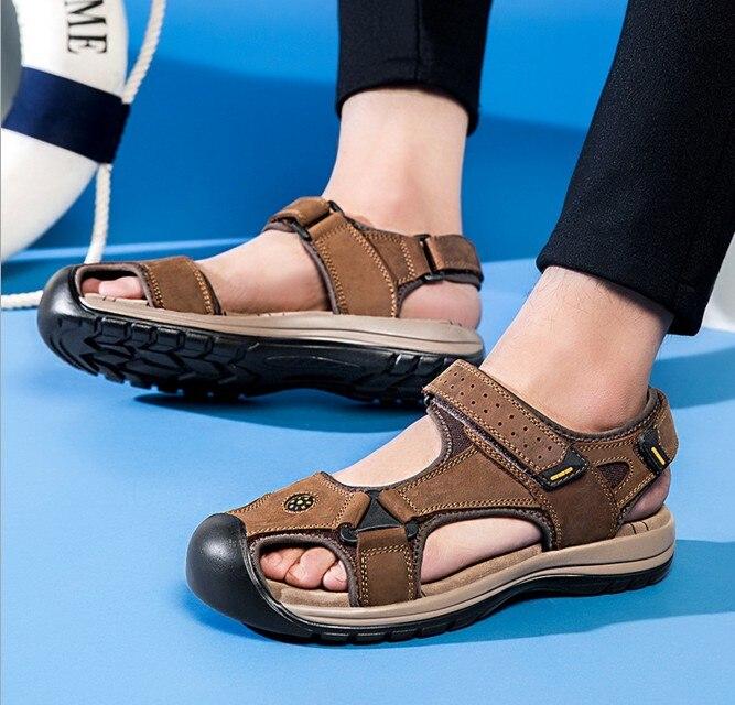 mens closed toe waterproof sandals