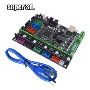 Image 3 - 3D Printer Parts MKS Gen V1.0 Control Board Mega 2560 R3 motherboard RepRap Ramps1.4+A4988/TMC2130/TMC2208/DRV8825 Driver