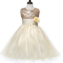 Flower Teenagers Kids Evening Party Dresses For Girl