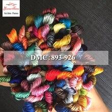 Golden Panno DIY DMC 893-926 вышивка нитью нитки 10 шт./лот 1,2 м Набор для вышивки крестом наборы для вышивки крестом 11,12