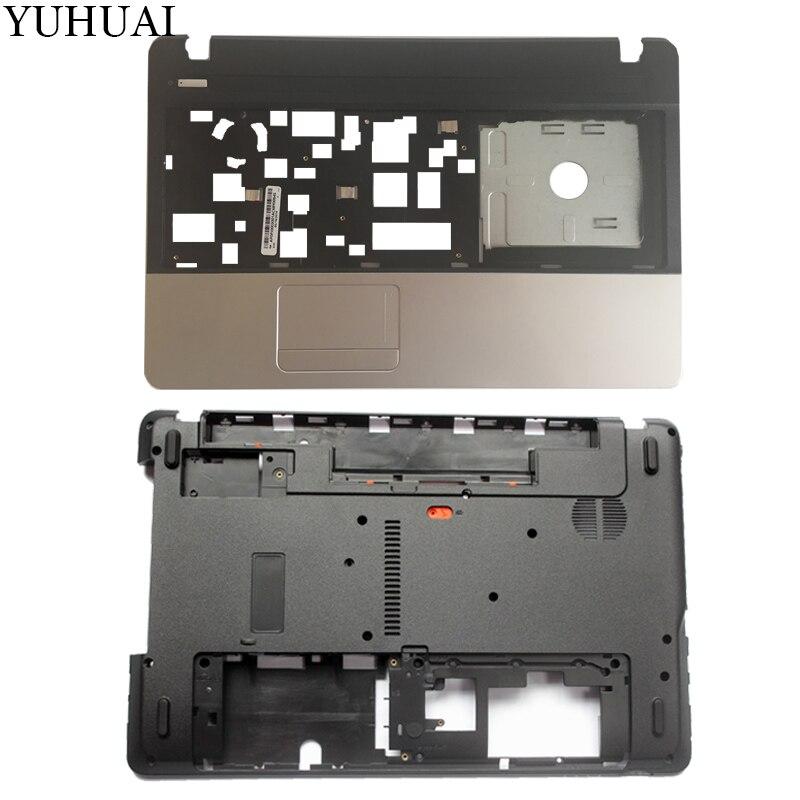 Nuevo caso de la cubierta para Acer Aspire E1-571 E1-571G E1-521 E1-531 Palmrest cubierta/portátil Base inferior caso AP0HJ000A00 AP0NN000100