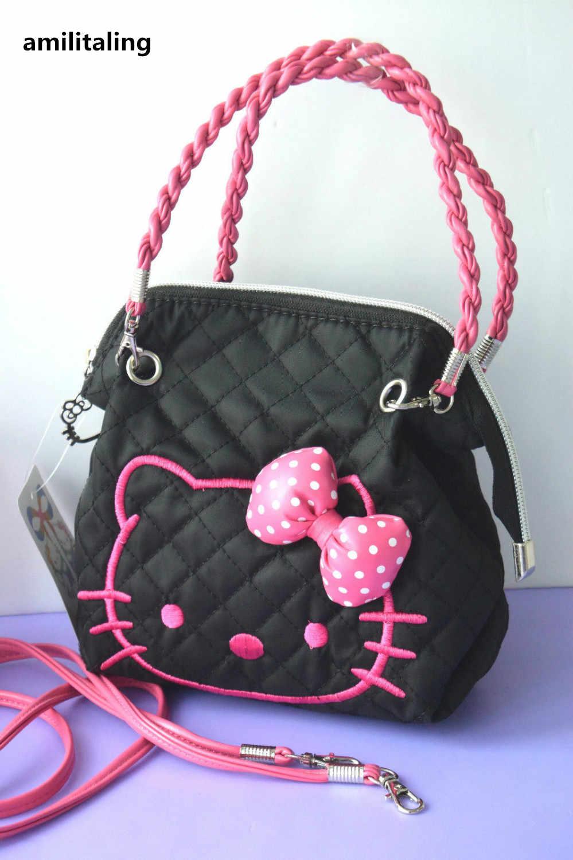 Nova Olá kitty Mini Bag W/Alça de Ombro Bolsa YEY-16688B