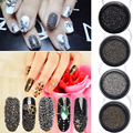 Korea 2016 New Nail Art Rhinestones Wizard Beads Crystal Sand Mini Bead Tiny Diamond Decorative Stones Box Set Jewelry Nails