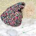 Big Pompom Hats Solid Color Women's Caps Winter Knitted Skulies & Beanies Free Shipping Acrylic Cable Thick Hats for Women
