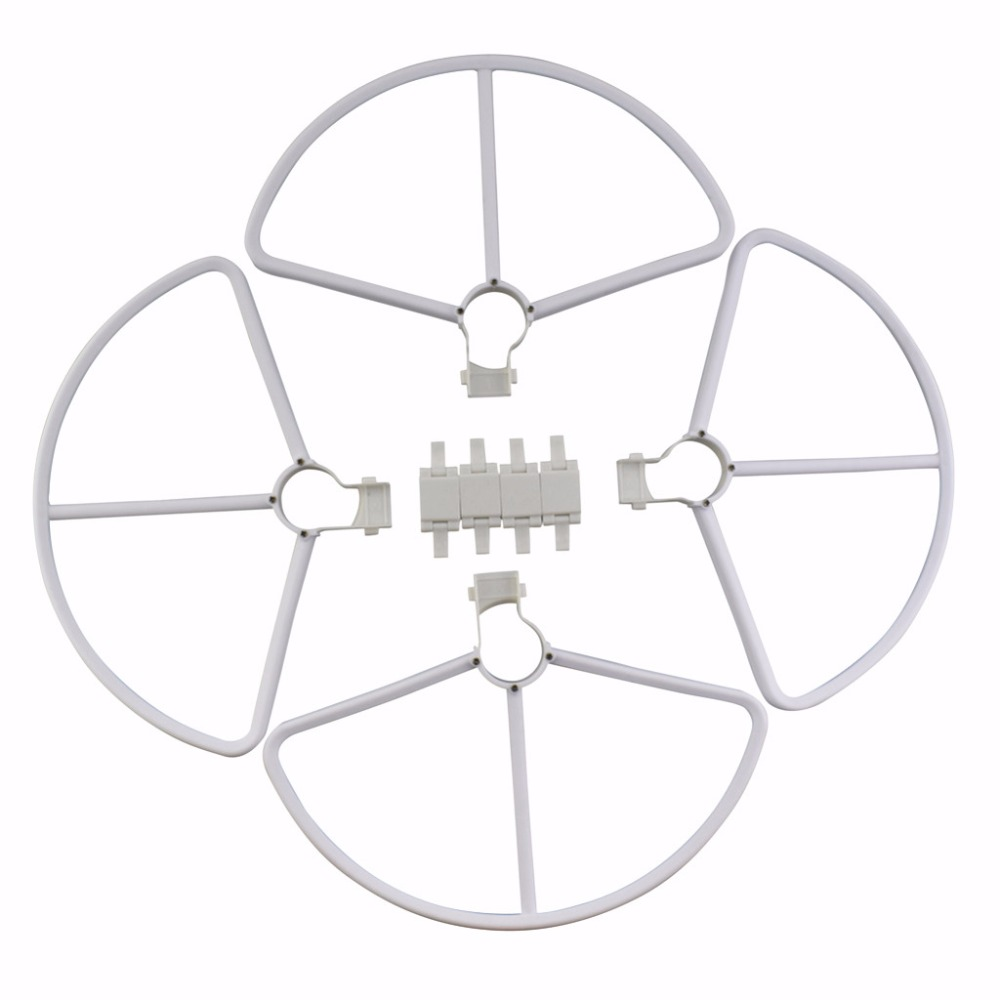 4PCS quick release protective cover for Hubsan Zino H117S aerial four-axis aircraft accessories protection ring white4PCS quick release protective cover for Hubsan Zino H117S aerial four-axis aircraft accessories protection ring white