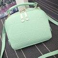 Ulrica Fashion Women Shell Bag 2016 Ladies Casual Handbag Shoulder Bag Tote Purse PU Leather Women Messenger Bag bolsa feminina