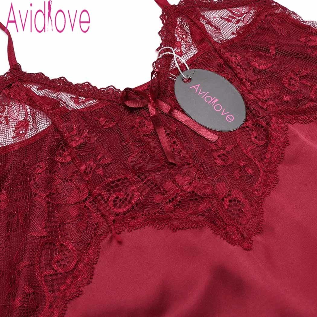 20c32e3dce8 Home   Avidlove Women Sexy Silk Satin Pajama Set Lace Pyjama Set Sleeveless  Pijama Set V-neck Sleepwear Summer Sleep Wear For Women. Previous. Next