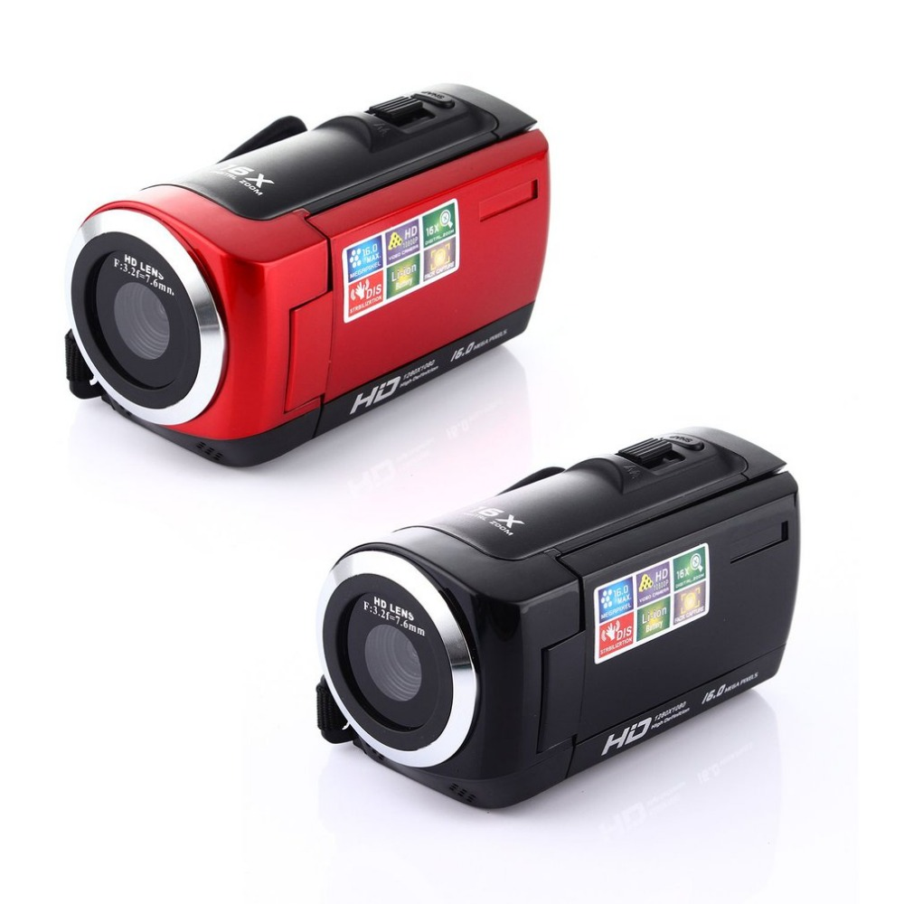 16 Mega Pixel Video Camera Camcorder HDC6 HD Digital Camera Camcorder Anti-shake 5MP CMOS Sensor 16 Digital Zoom