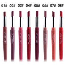 2 In 1 Waterproof Lip Liner Pencil Lipstick