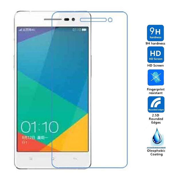 2pcs Tempered Glass Film For Oppo R3 R7007 R821 R9 Find5 X909 R1c