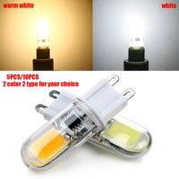 Top Quality 1508 COB G9 2W 220V Dimmable Corn Light Bulb LED Chandelier Crystal Lamp Art