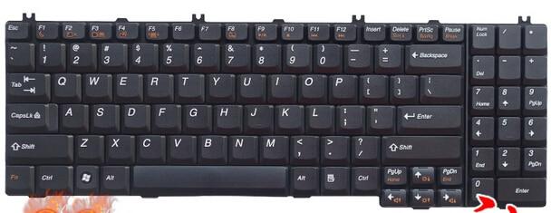 US NEW Keyboard for Lenovo B560 B550 G550 G550A G550M G550S G555 G555A G555AX laptop keyboard