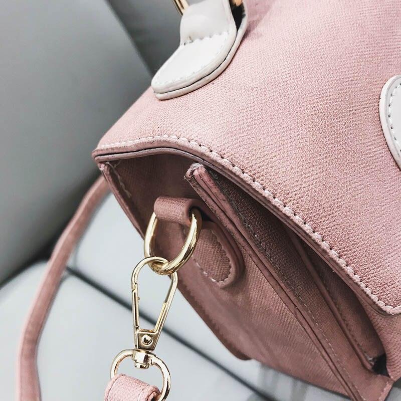 Di Epoca Donne Lusso brown pink Femme Black Cuoio Borse Sacchetto Bolsos Borsa Mujer Tote Marche Elaborazione Hifar Vintage blue 2018 Sac Dell'unità Famose Bag Del 6qxwSCTvIn
