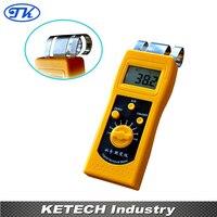 새로운 휴대용 디지털 섬유 수분 측정기 dm200t
