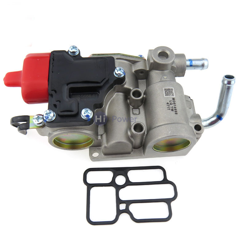 MD614696 Engine Throttle Body Assembly for Mitsubishi space vehicle N31 N34 Idle Air Speed Control Valve