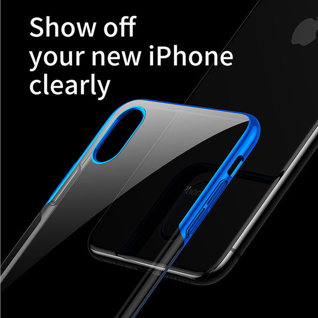 Transparent Case for Apple iPhone