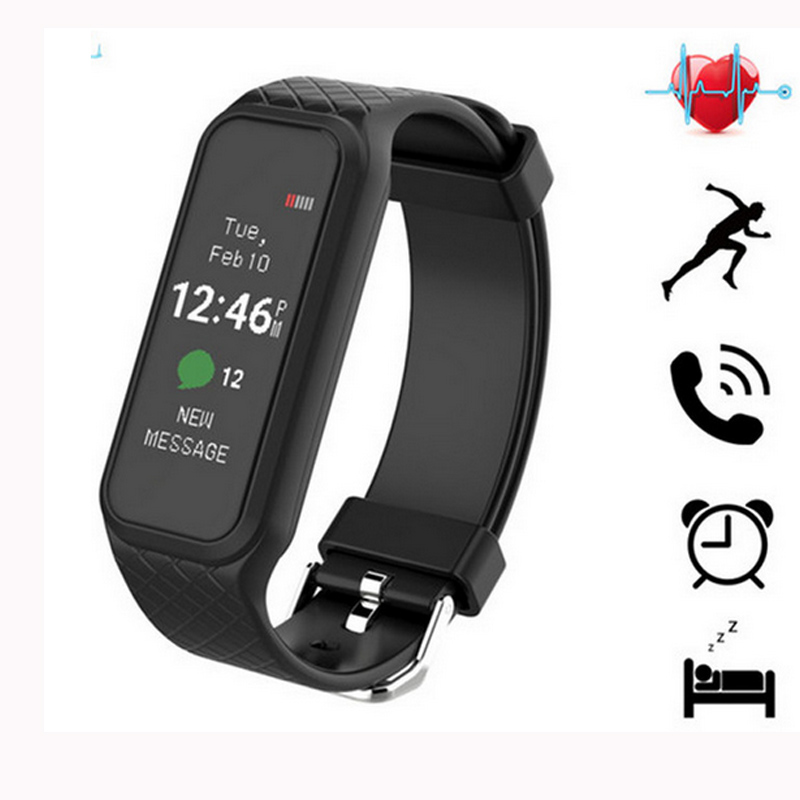 1 06 inch Colorful Screen L38i Smart Heart Rate Monitor Smartband Wristwatch Sports Fitness Band Smart