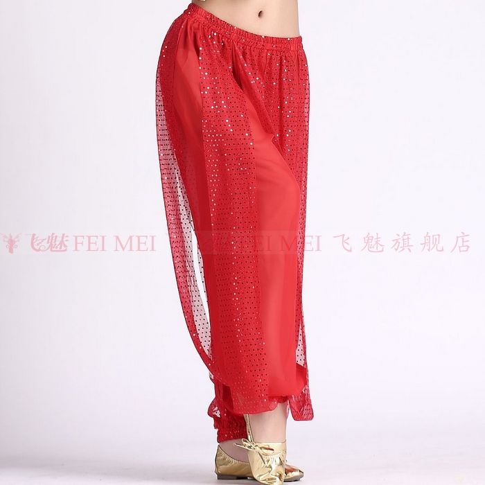 New Belly Dance Costumes Senior Sexy Chiffon Highlights  Belt Belly Dance  Pants For Women Belly Dance  Lantern Trousers
