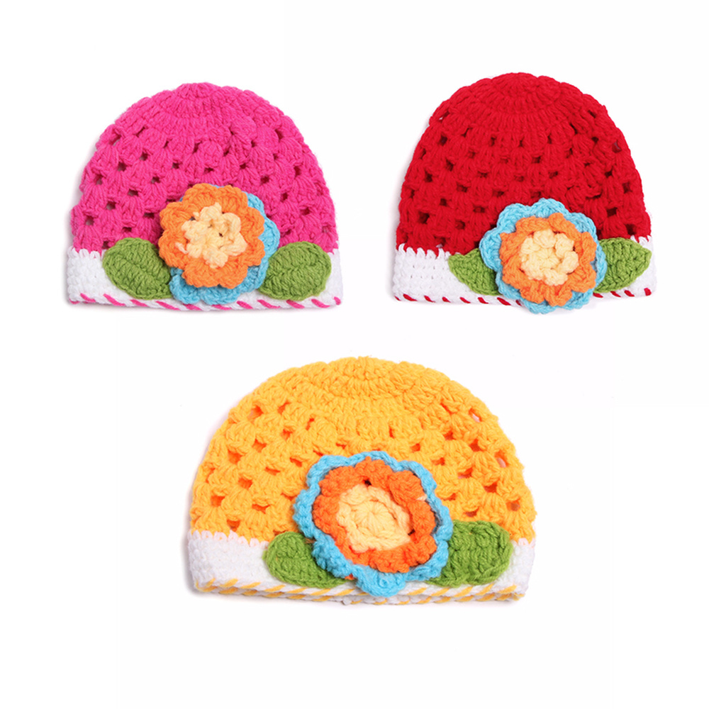 2019 Newborn Hats Photography Props Accessories Warm Hat Cap Infant Bebe Soft Bonnet Handmade Knitted Caps Baby Girls Boys Cloth Hats & Caps Accessories
