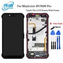 WEICHENG Für Blackview BV9600 Pro LCD Display und Touch Screen Mit Rahmen 6,21