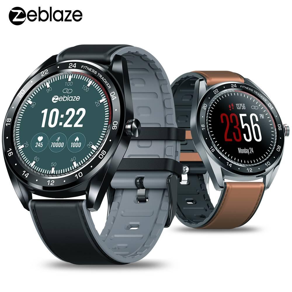 Zeblaze NEO Smartwatch bande tension artérielle moniteur de fréquence cardiaque femme physiologique compte à rebours 1.3
