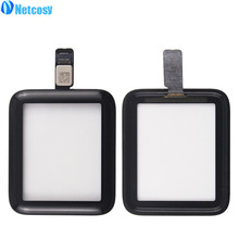 Netcosy 38mm 42mm Touchscreen Digitizer Glas Linse Panel Für Apple Uhr serie 2 Serie 3 38mm 42mm TouchScreen Repiar teile(China)
