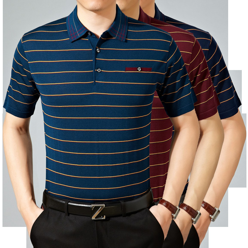 Online buy wholesale silk polo shirt from china silk polo for Buy wholesale polo shirts