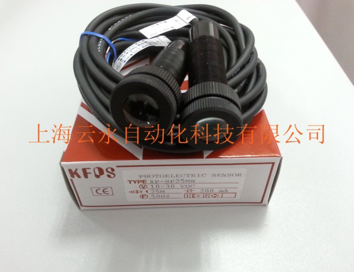 new original XP-SP25MN  Taiwan  kai fang KFPS photoelectric sensor new original xp sr200e4 taiwan kai fang kfps photoelectric sensor