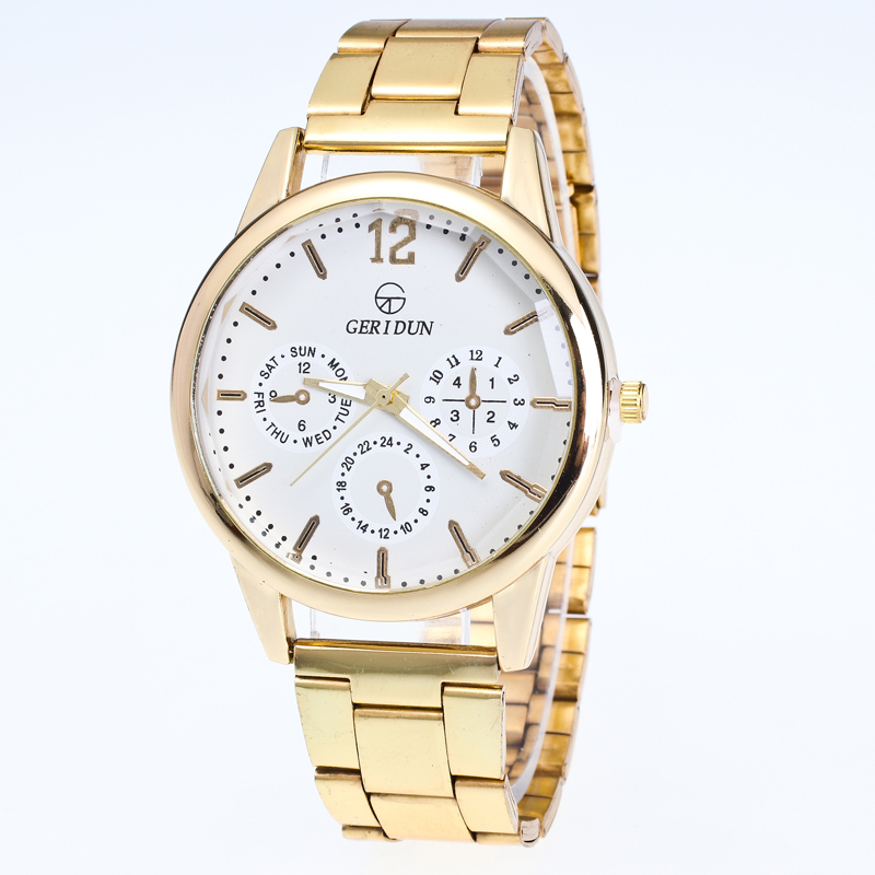 Fashion Top Brand Luxury Men Watch Clock Stainless Steel gold Quartz Watches Fashion Business Male Wristwatch relojes hombre chenxi men gold watch male stainless steel quartz golden men s wristwatches for man top brand luxury quartz watches gift clock