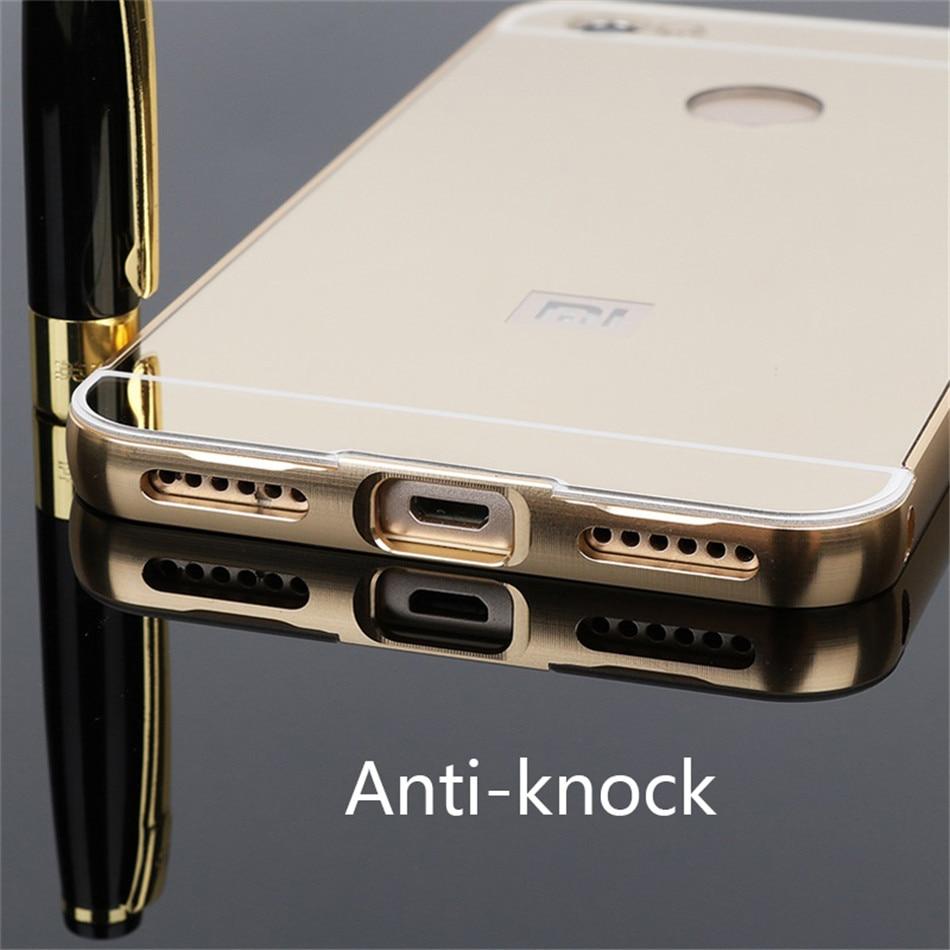 Luxury For Xiaomi Mi A1 A2 Redmi 5 Plus 6 6A 4X S2 Redmi Note 5 6 Pro Note  4X Glitter Mirror TPU Case (4)