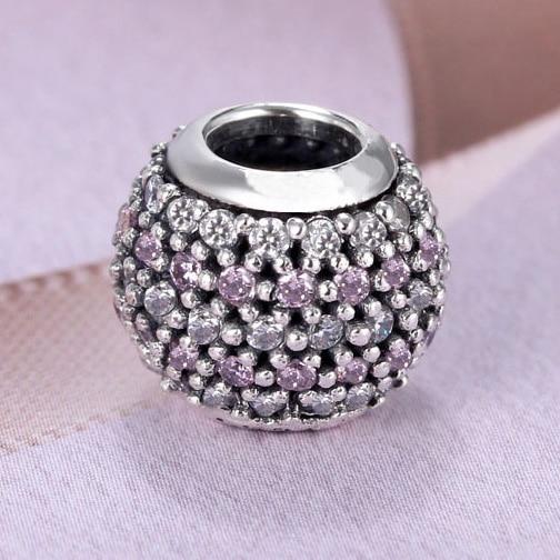 925 Sterling Silver Royal Crown Charm Beads CC-JJ