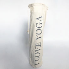 Yoga Mat Bag Carrier Durable Canvas Cotton Yoga Backpack