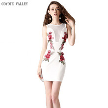 Robe Top Fashion Real Coyote Valley Free Shipping 2017 Women Hollow Jammed Elegant Dress Wholesale Sportswear Leotard –