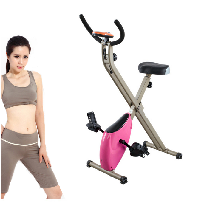 Multifunctional magnetic mini pedal cycle exercise machine indoor Stationary bike for christmas