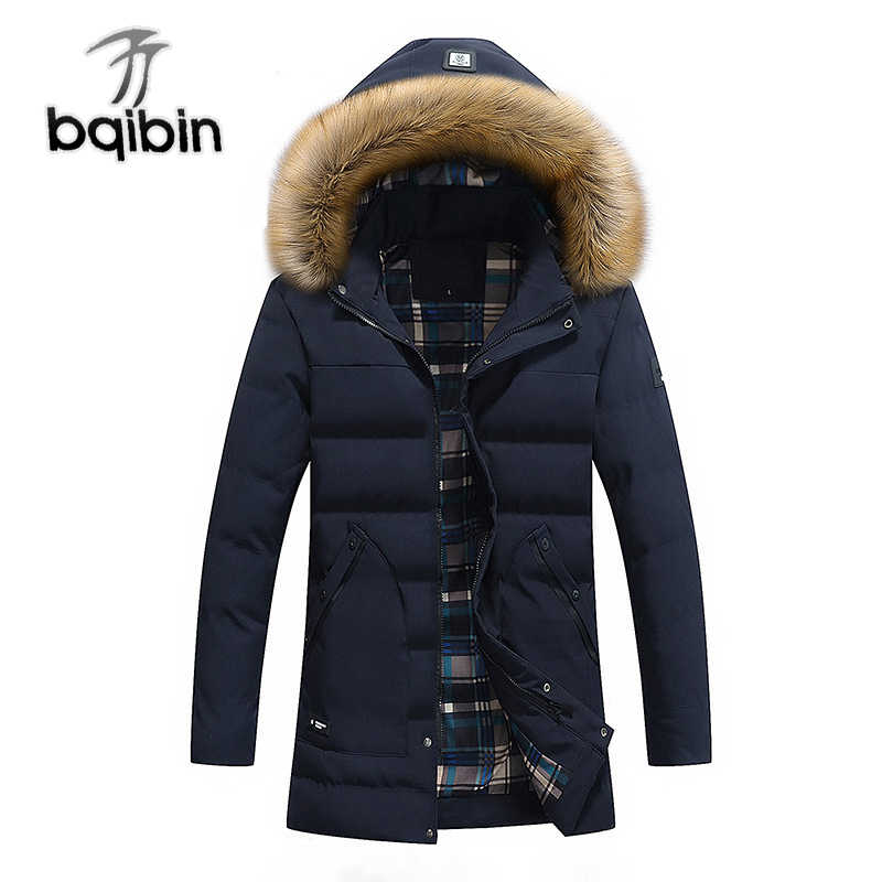 2018 шляпа съемная длинная стильная куртка повседневная Толстая зимняя  куртка мужская три цвета теплая хорошего качества 985fbea36e2
