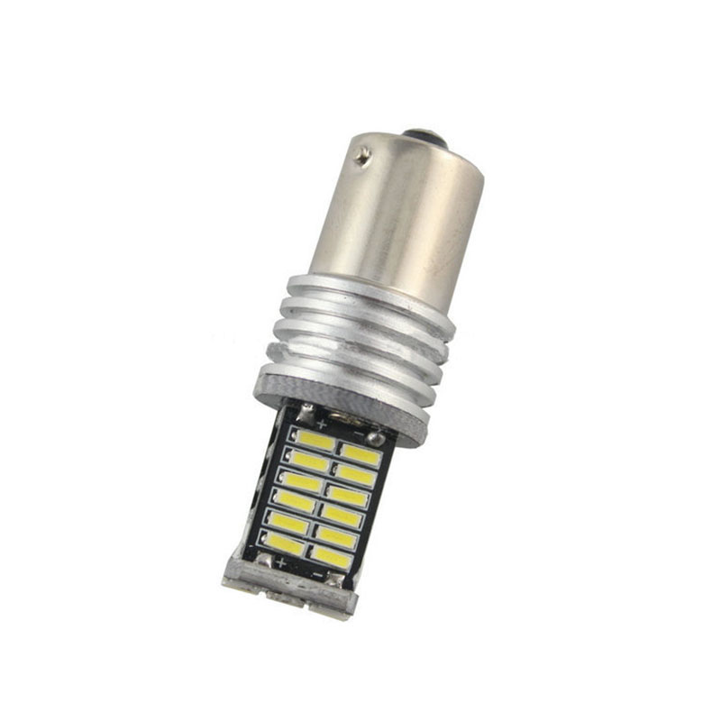 4Pcs Αυτόματο LED Canbus BAU15S 1156 4014 30 Σφάλμα SMD - Φώτα αυτοκινήτων - Φωτογραφία 2