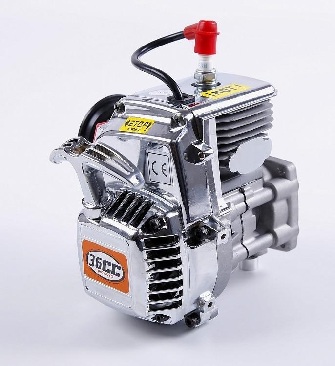 36cc 4 Bolt Motor Gasoline Engine for 1/5 HPI ROVAN KM baja 5B 5T 5SC LOSI FG RC CAR PARTS