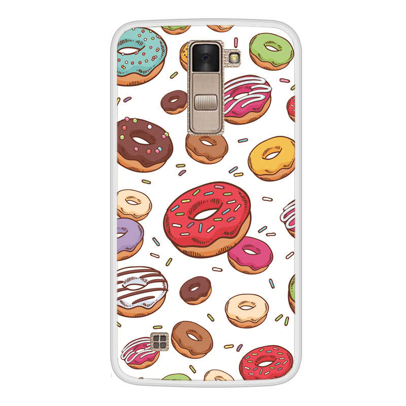 Case For LG K8 2016 Soft Silicone TPU Cute Patterned Paint For LGK8 2016 Phone Case Cover