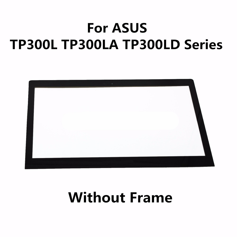 New 13.3'' inch Touch Screen Panel + Frame For ASUS Transformer Book TP300L TP300LA TP300LD Series Digitizer Glass Replacement new 10 1 inch tablet touch glass digitizer panel lcd display screen assembly replacement for asus transformer book t100h t100ha
