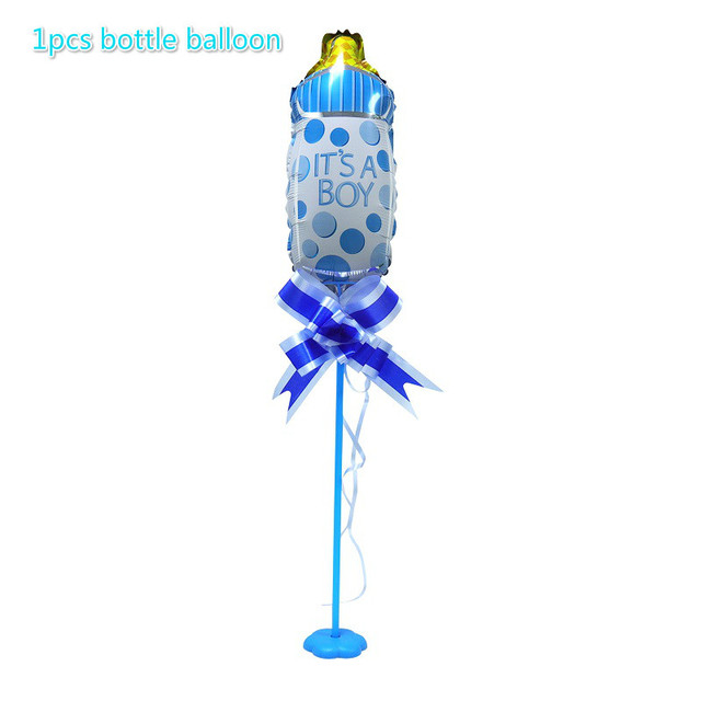 Blue bottle balloon Presents for one year old boy 5c64f7ebeed00