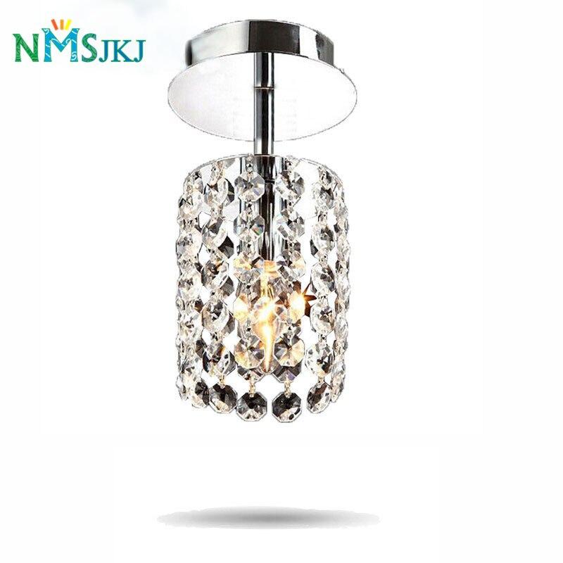 Surface Mounted Modern Crystal LED Ceiling Lights for Living Room Light Fixture Indoor Lighting Corridor Balcony Lamp