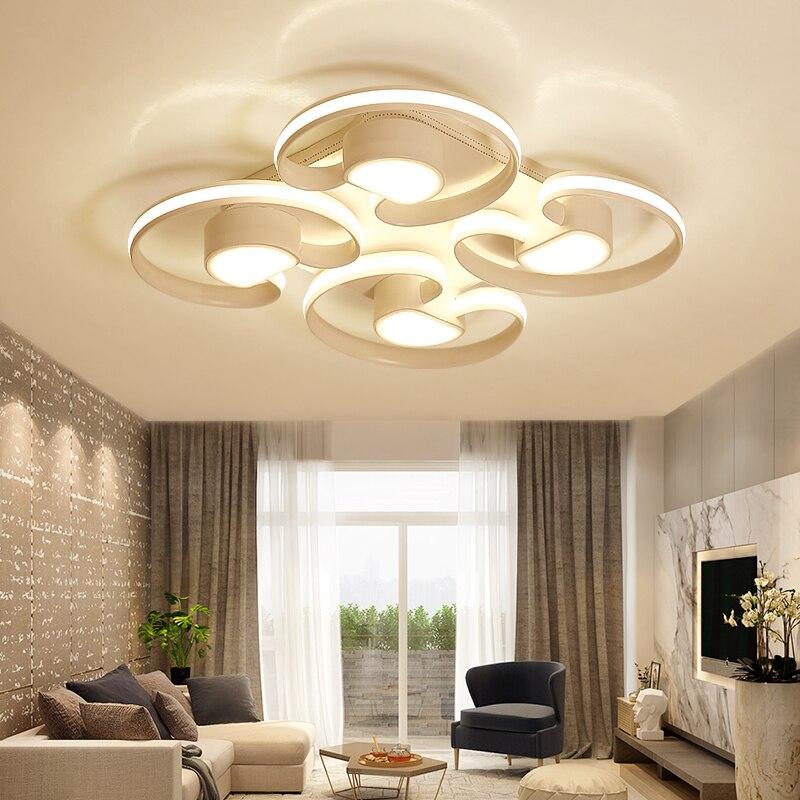 led ceiling light Living room led ceiling post modern minimalist bedroom lamp warm creative restaurant room lamp led lamp modern minimalist led cute color ceiling