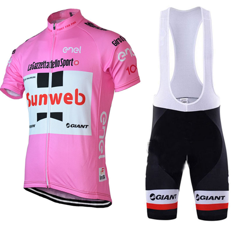 2018 sunweb Cycling jersey pro team Clothing Bike Men Bicycle clothes short sleeves Ropa Ciclismo Hombre Cycling clothing men s slimming collarless bus printing short sleeves