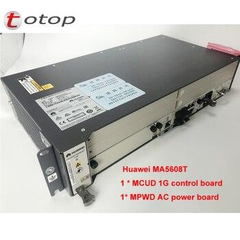 Huawei olt ma5608t 16 портов Opitcal линии терминал Gpon/EPON olt  устройство шасси + 2 * MCUD1 + 1 * MPWC