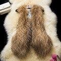 Хорошее качество женщины без рукавов Искусственного меха пальто Мягкий faxu меховые жилеты Тонкий леди зимние меховые куртки CH541