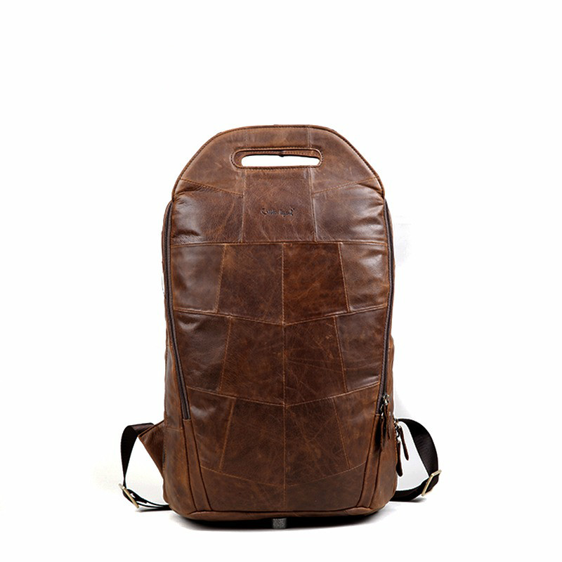 Cobbler Legend 2018 Men Cowhide Genuine Leather Fashion Vintage Backpacks Large Capacity Shoulder Travelling Bag For TeenageCobbler Legend 2018 Men Cowhide Genuine Leather Fashion Vintage Backpacks Large Capacity Shoulder Travelling Bag For Teenage