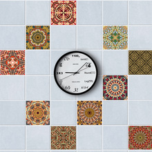 Arabic  Tiles Wall Stickers for DecorationSelf- Adhesive Waterproof PVC TS015