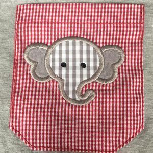 Image 4 - Puresun Mode Sommer Geschwister Design Junge Strampler Elefanten Muster Stickerei Blase Junge Gingham Boutique Baby Overall