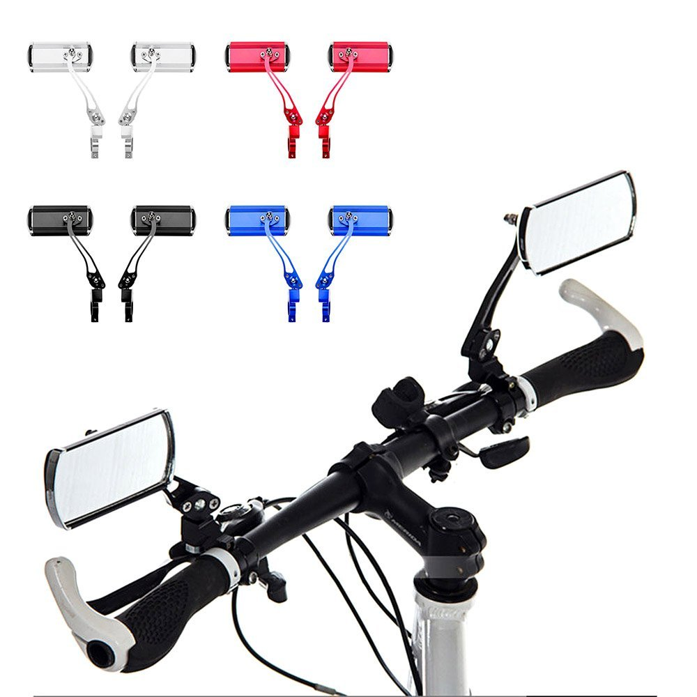 Bicycle Mirror Bicycle  Rear View Mirror Bike Rearview Mirror Adjustable Car Rearview Mirror For Mountain Bike Electric
